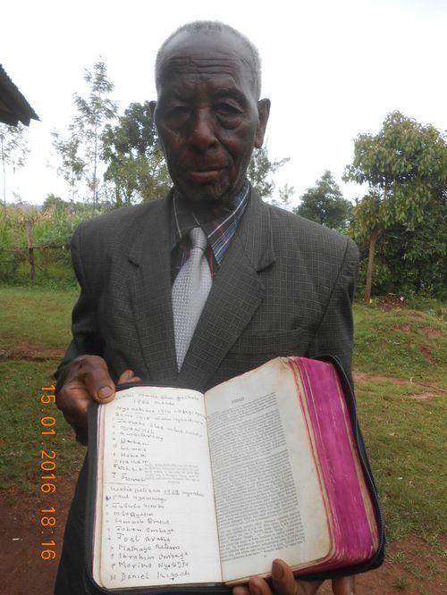Elder Israel Monyoro 1