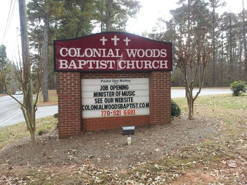 Colonial Woods Baptist