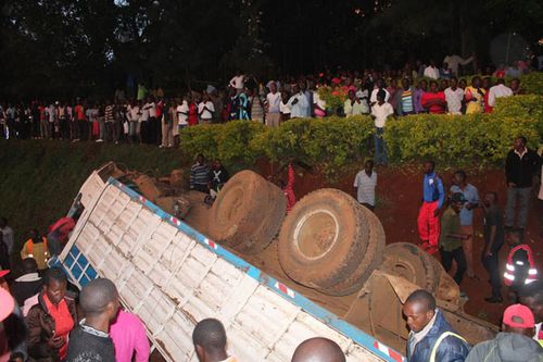 Accident near Gusii Institute Of Technology