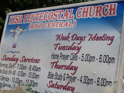 Kisii pentecostal