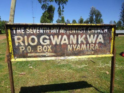 Abanto baito abaya ba Riogwankwa SDA Church Nyamira County